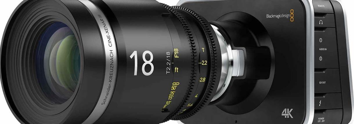 Blackmagic Cinema 4k | Blu Strategic Services - Rental