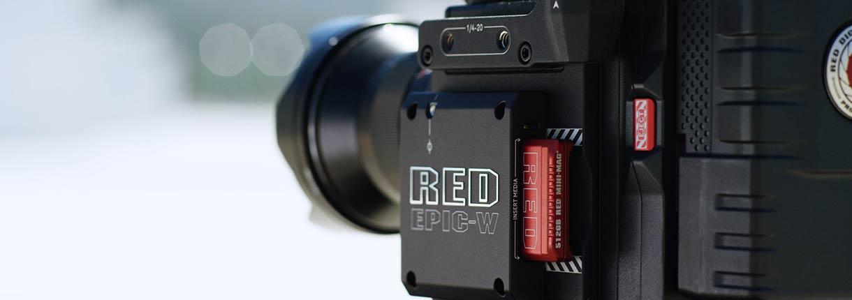 Red Weapon 8K | Blu Strategic Services - Rental