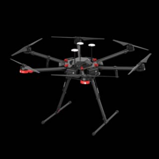 DJI Matrice 600 Pro | Blu Strategic Services - Rental